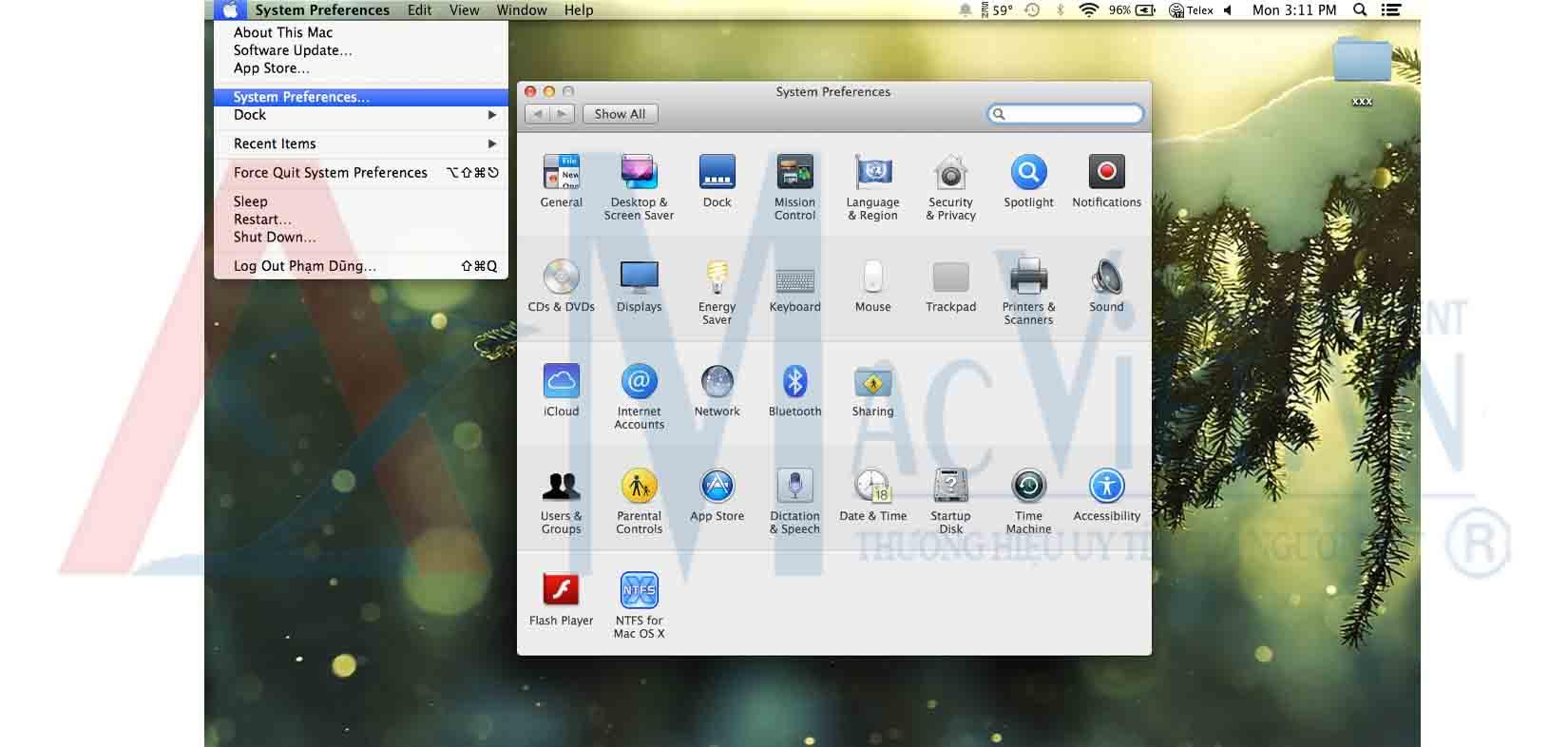 Gõ tiếng việt trên Mac OS