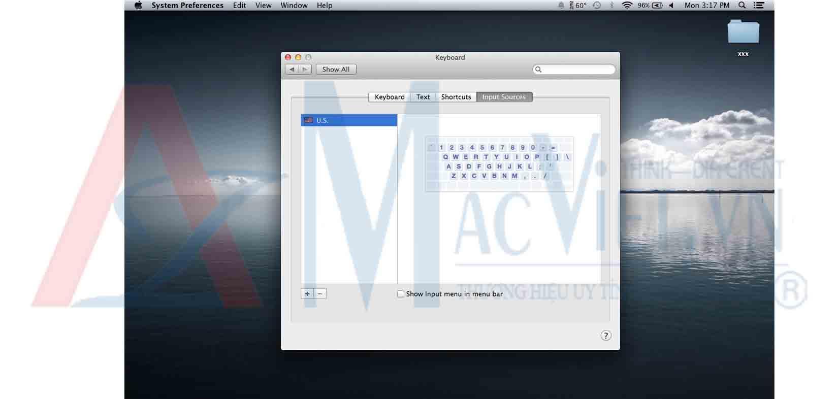 Gõ tiếng việt trên Mac OS X