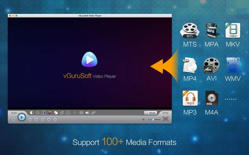 VGuruSoft Video Player xem phim trên Macbook