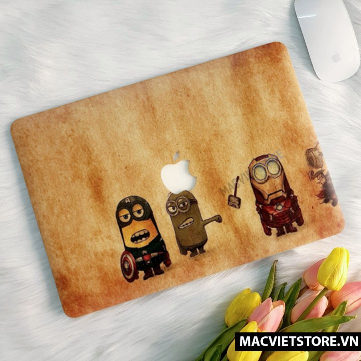 Ốp Macbook In Hình Minion