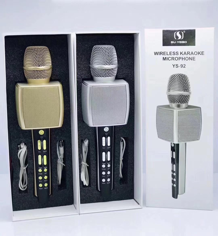 Micro karaoke lluetooth cao cấp SU YOSD YS-92 âm thanh cực vang ...
