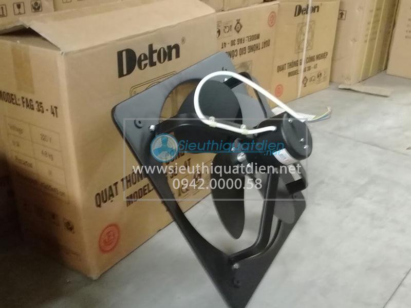 quạt thông gió vuông deton FDV 60 cho nhà xưởng