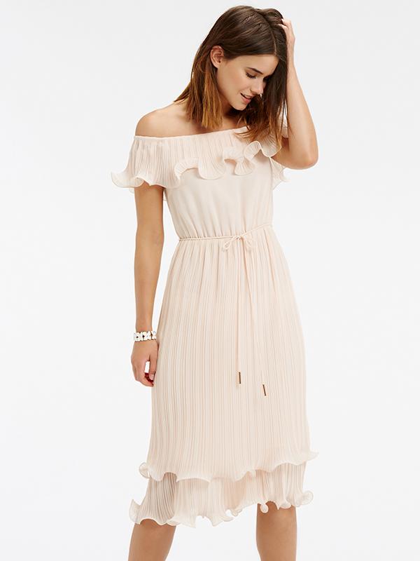 Đầm voan lụa Oasis