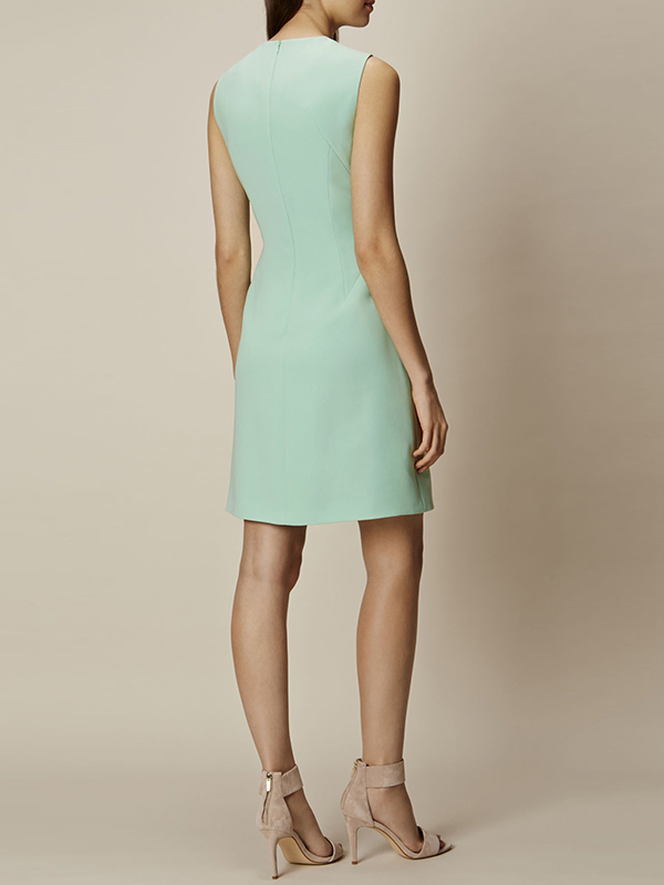 banana republic pastel midi dress
