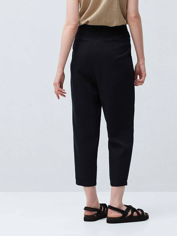 Quần baggy MANGO - Baggy soft trousers MANGO