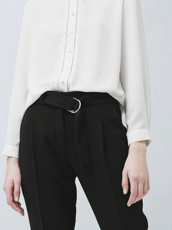 Belt Baggy Trouser MANGO