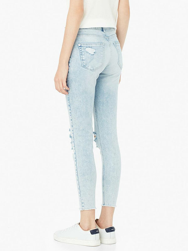 Áo Crop Skinny Isa Jeans Mango