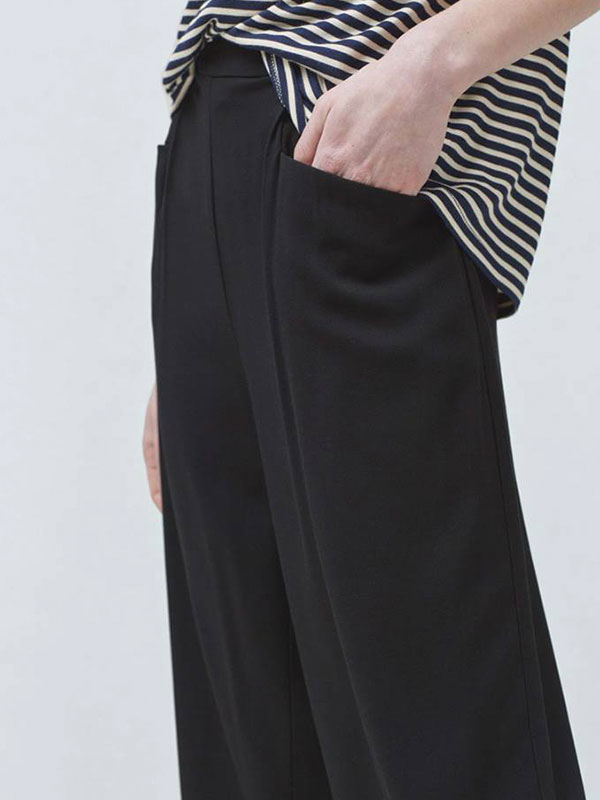CROPPED PALAZZO TROUSERS MANGO More