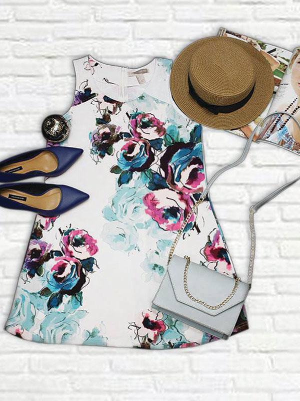 Đầm hoa Forever21