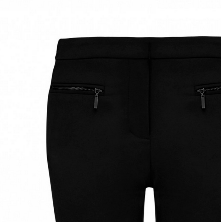 FOREVER NEW SIMONE ZIP POCKET SLIM CUT PANT