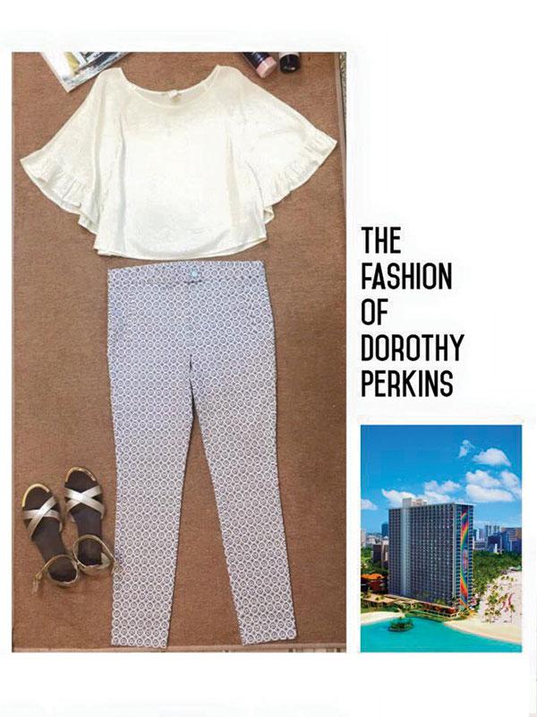 Quần kaki Dorothy Perkins