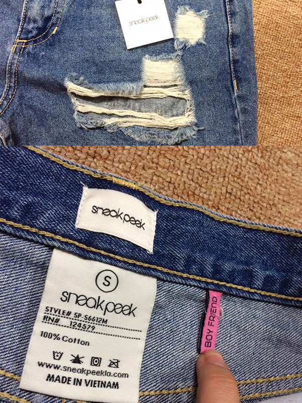 Quần Shorts Sneak Peak