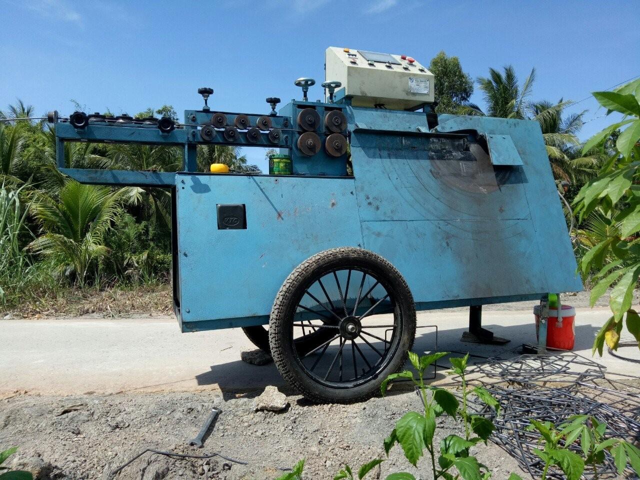 Máy bẻ đai sắt tự động Trung Sơn Đà Nẵng