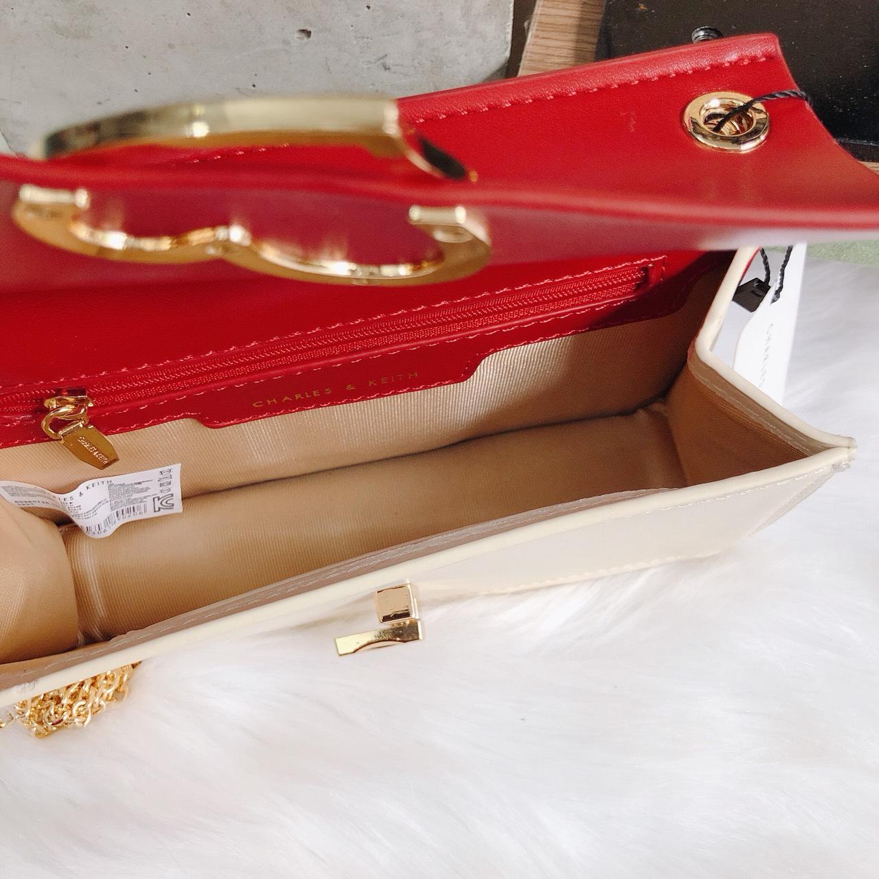 Túi Cnk hộp khóa tim - CL270