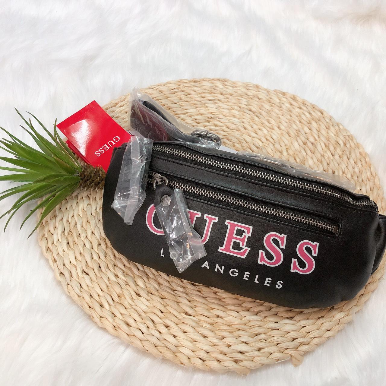 Túi Guess đeo hông chữ to - G008