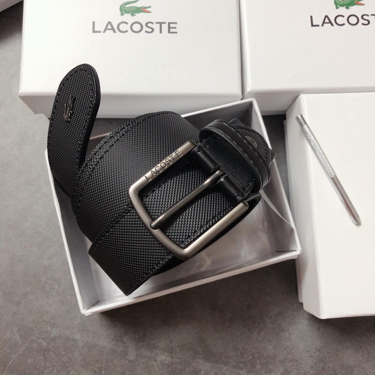 Nịt Lacoste khóa gài vuông - NN171