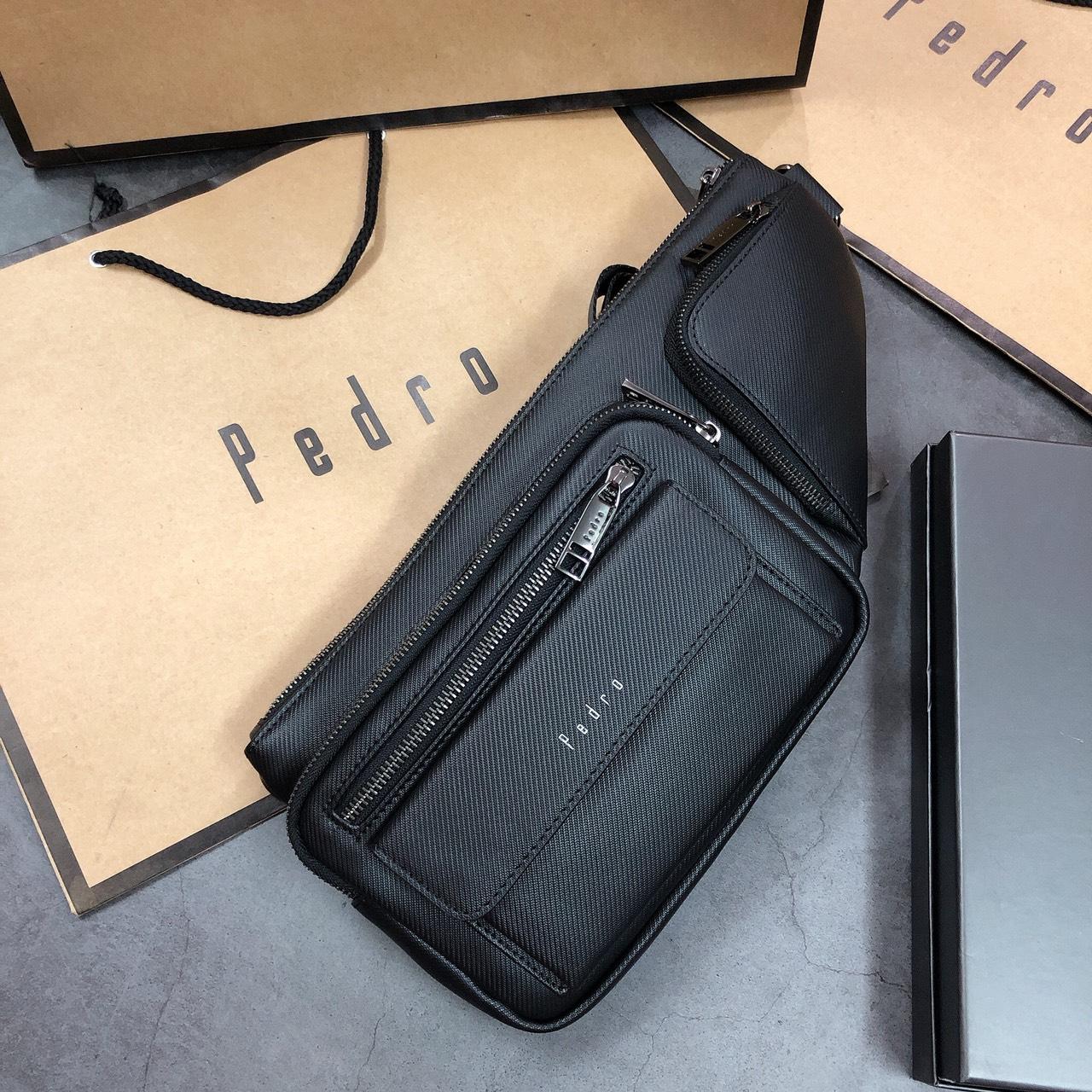Túi nam Pedro đeo chéo 2 ngăn- PM11