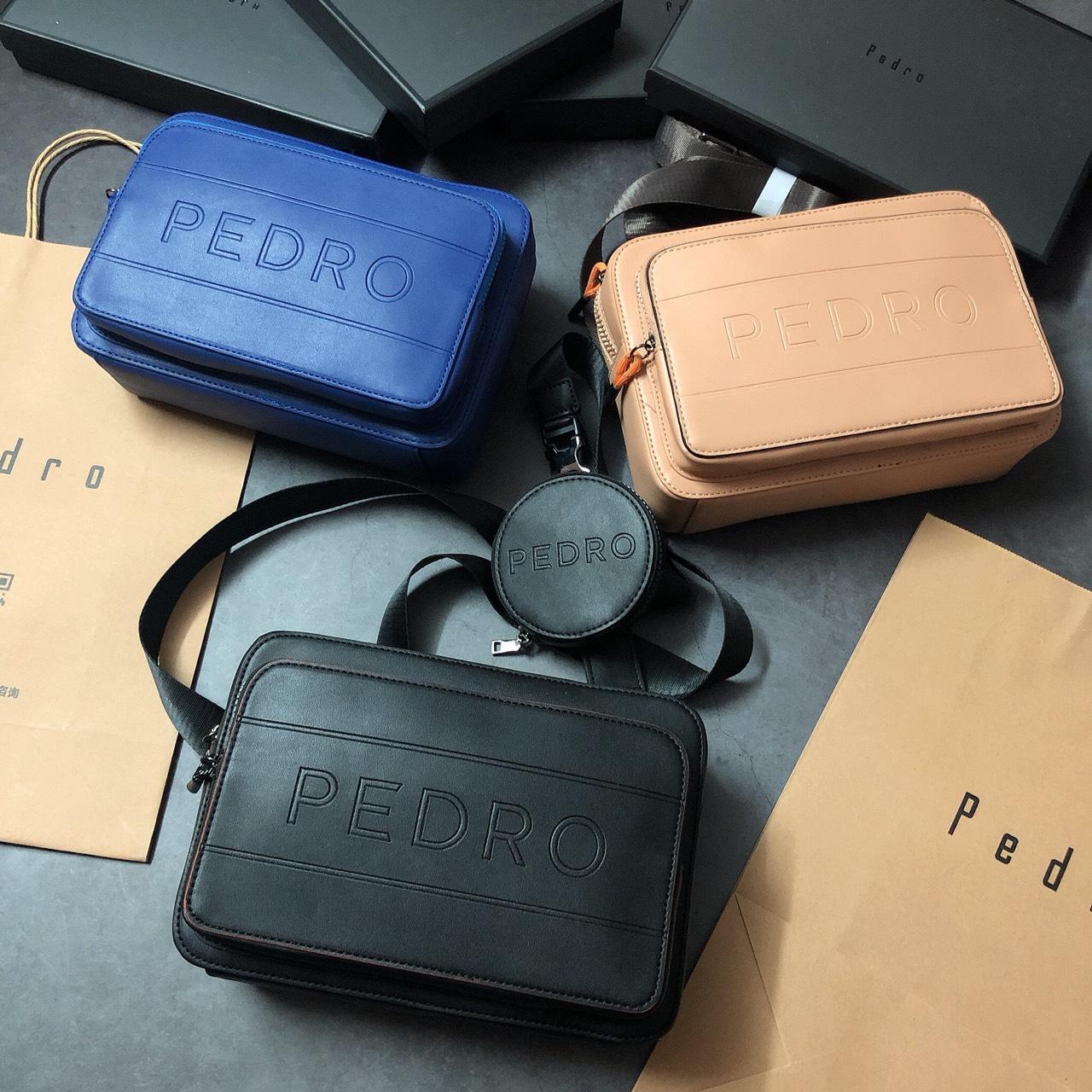 Túi Pedro chữ to  2 ngăn kèm ví tròn - PM13