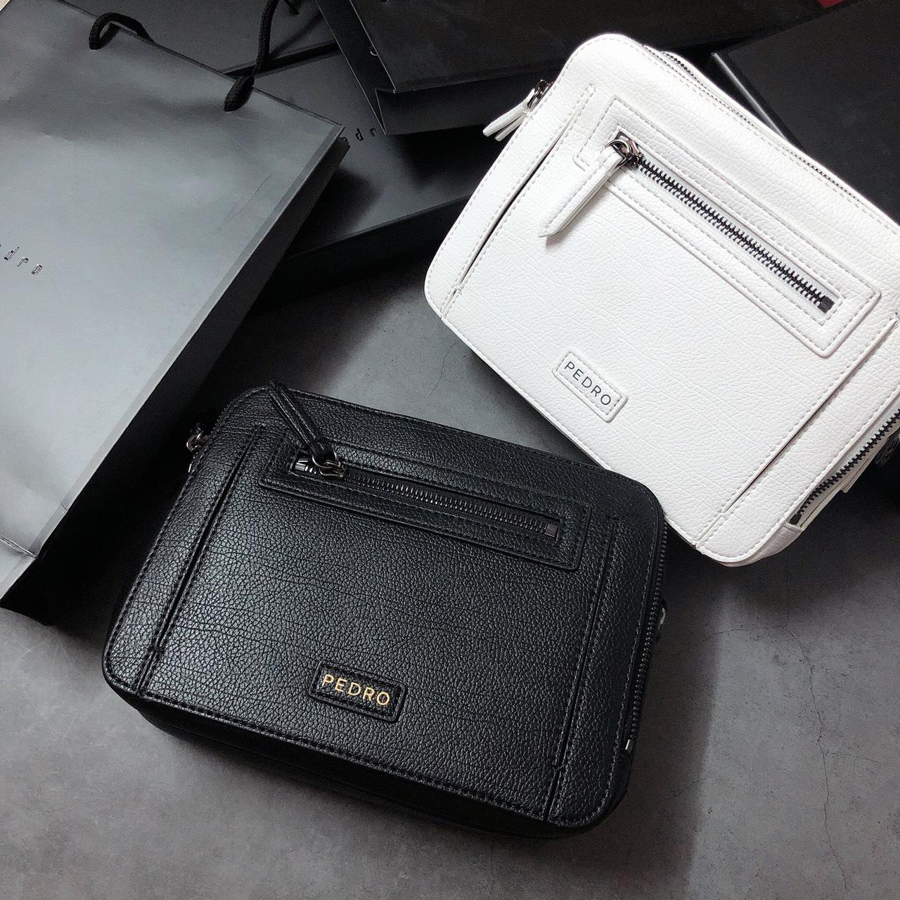 Túi Pedro hộp ngang 2 ngăn - PM20
