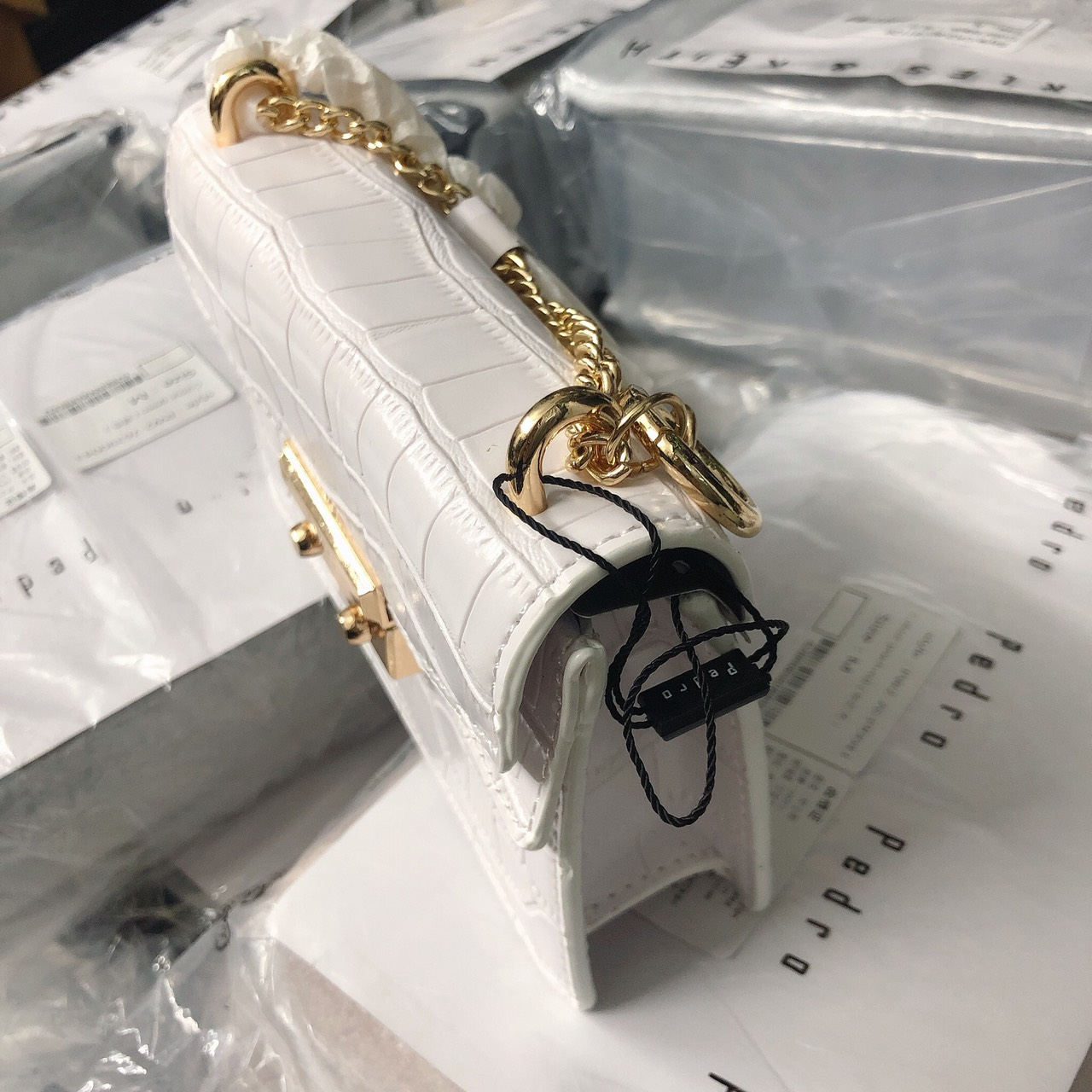 Túi Pedro hộp nắp 2 viền- PW15