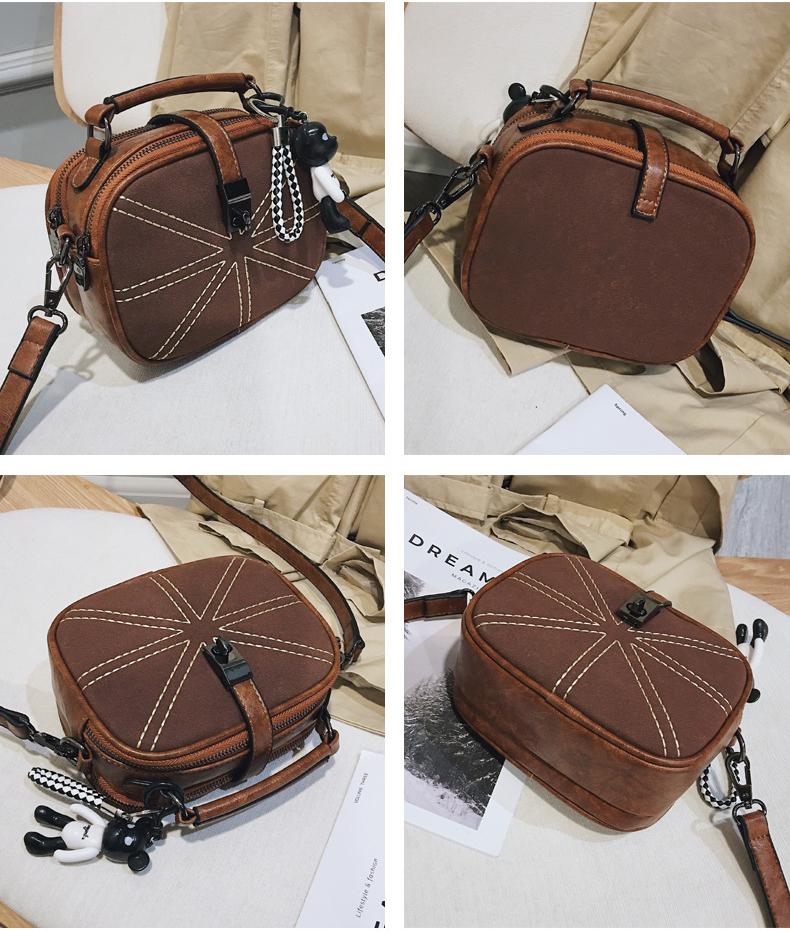Túi baobao nắp cài mini - XK694
