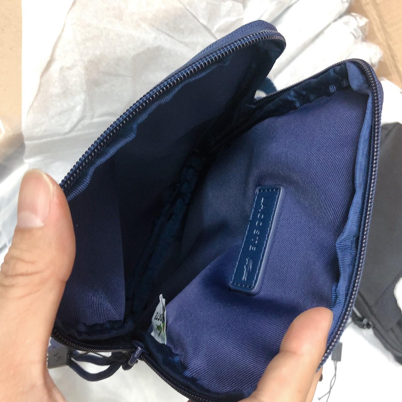 Túi Lacoste khóa gài đáy - XK825
