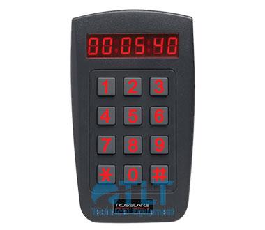 Đầu đọc Rosslare AY-F66 mã PIN & mở rộng ngoài trời với màn hình LED hiển thị thời gian / ngày