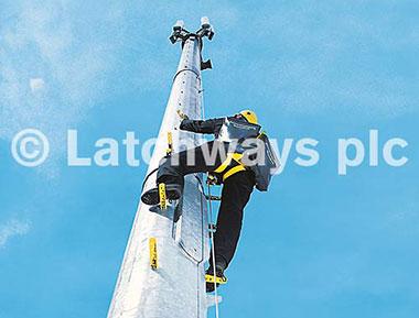 Hệ thống chống trượt ngã cho ngành Viễn thông và Điện lực