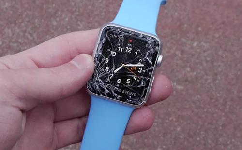 đồng hồ thông minh A1 bị vỡ kính cảm ứng