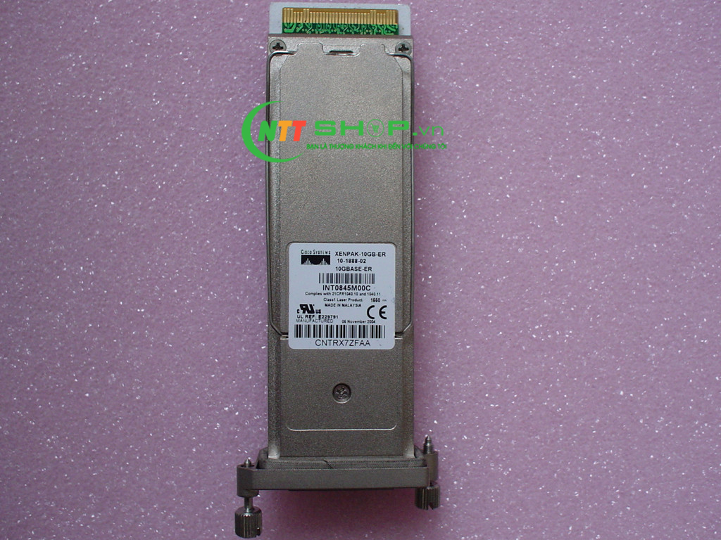 Cisco SFP XENPAK-10GB-ER+ for SMF 1550-nm SC Duplex 40km