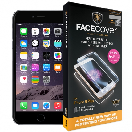 Ốp chống va đập Buff labs (Facecover) Cho Iphone 6 plus, 6S plus