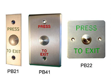 PB21-PB22-PB41 Metal Push Button