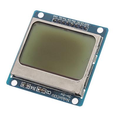 Arduino Nokia 5110 LCD Tutorial #3 - Live Numerical