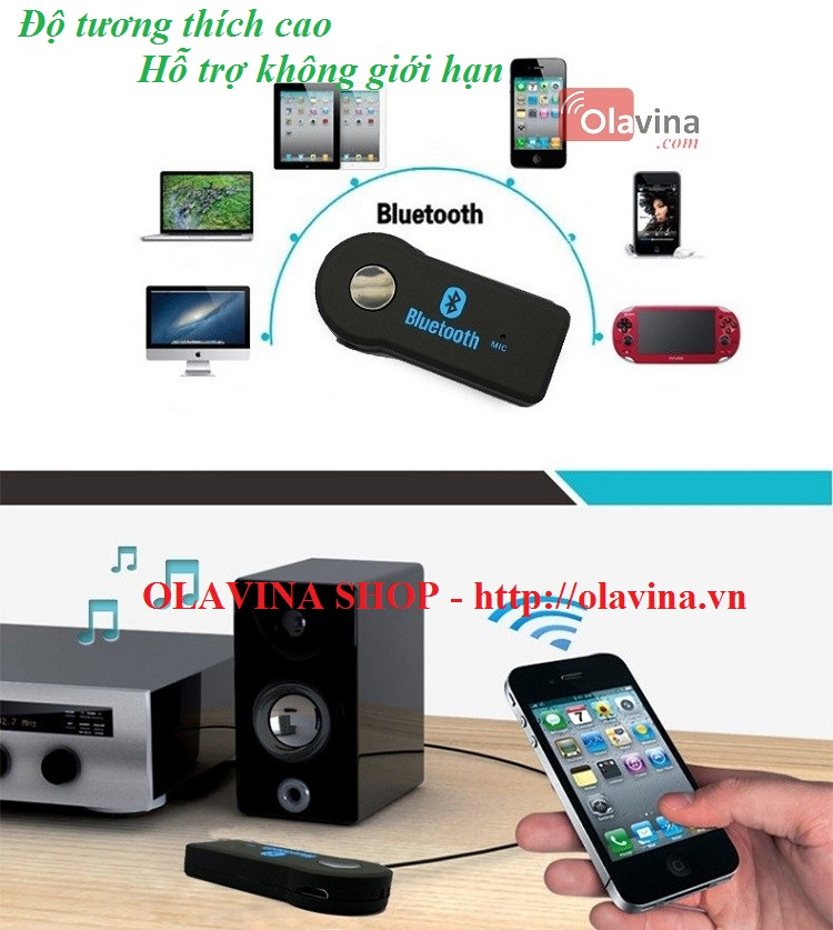 Bluetooth Music Receiver 302 - OLAVINA SHOP