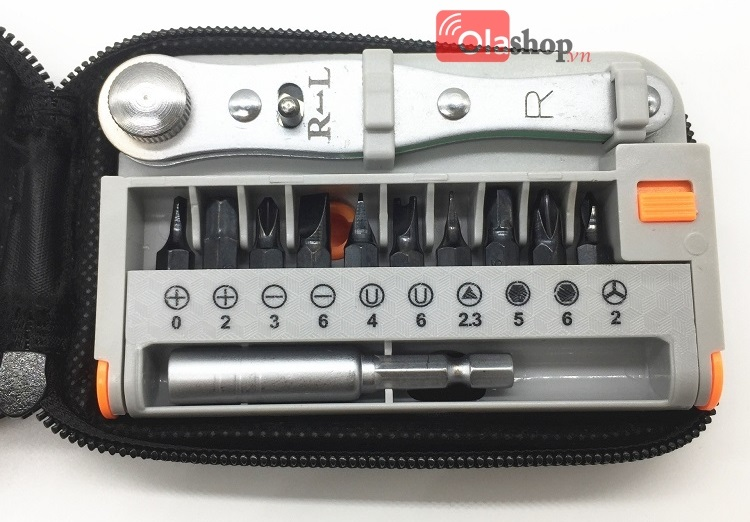 Bộ khẩu vặn ốc vít Mini Portable