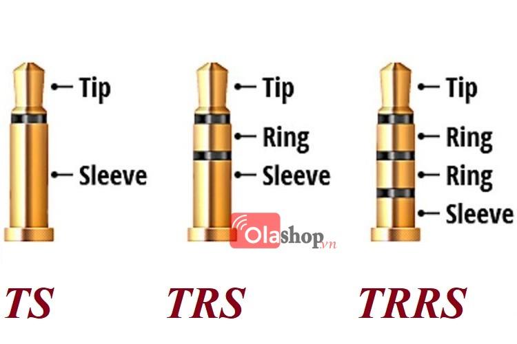 Cáp kết nối TRS sang TRRS 3.5mm