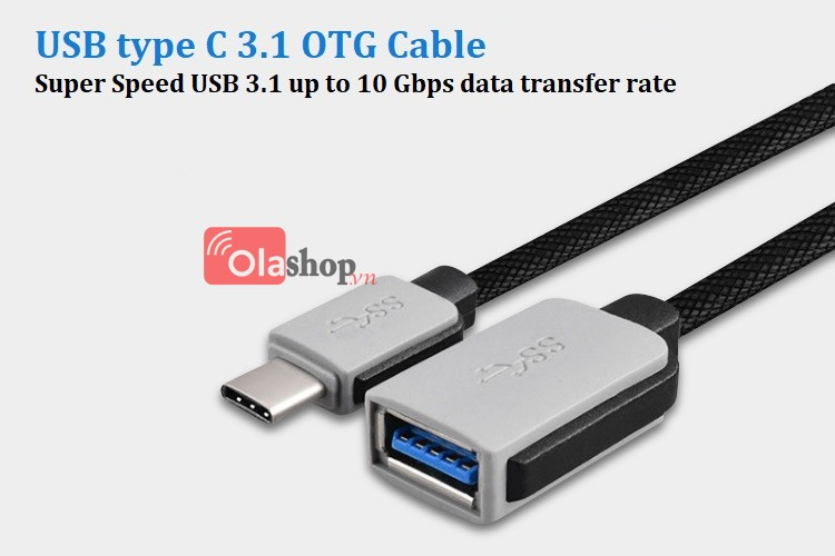 Cáp OTG type C 3.1