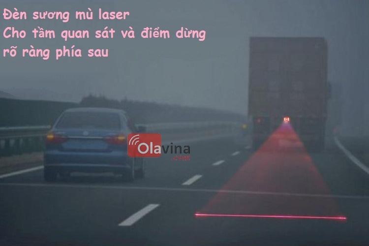 Đèn sương mù, đèn phanh laser ô tô, xe máy - 2