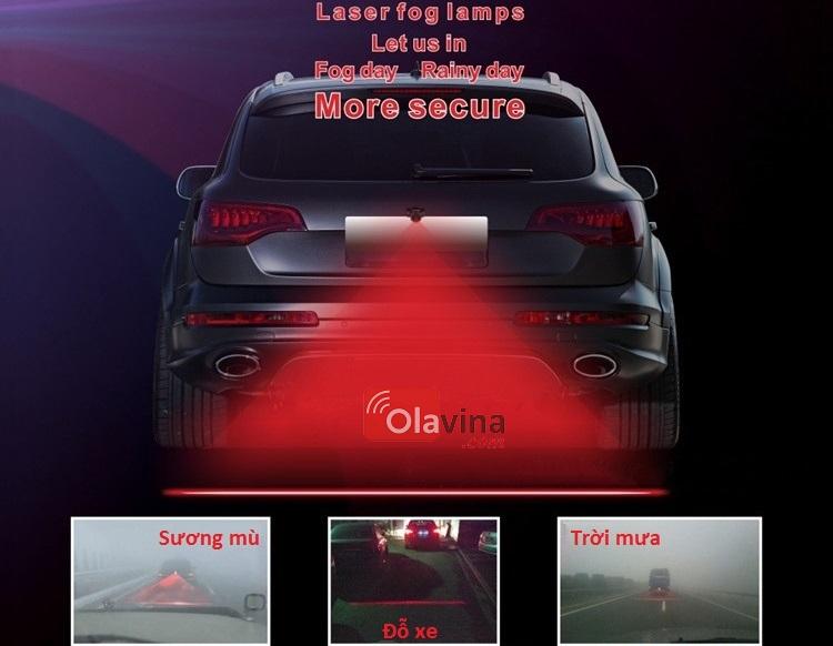 Đèn sương mù, đèn phanh laser ô tô, xe máy - 1
