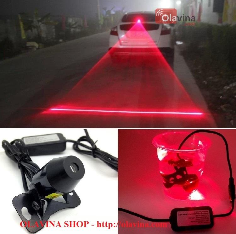 Đèn sương mù, đèn phanh laser ô tô, xe máy - 3