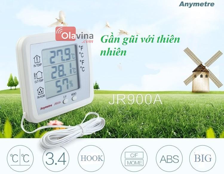 Nhiệt ẩm kế điện tử JR900A