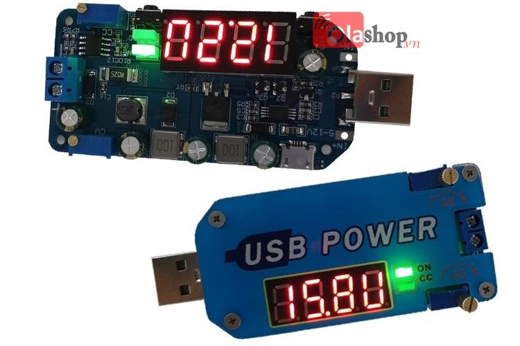 USB chỉnh áp đa năng 15w