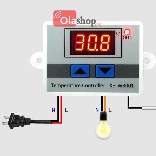 Bộ điều khiển nhiệt độ 220V