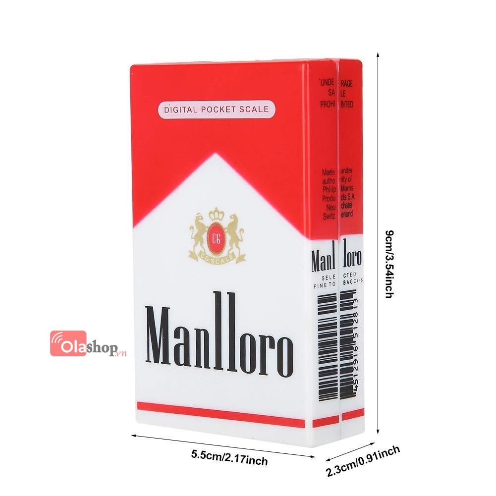 Cân điện tử bỏ túi 100g/0.01g hình bao thuốc Manlloro