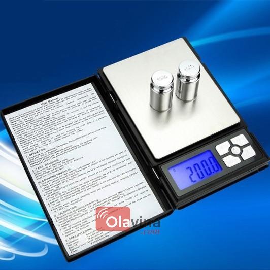 Cân tiểu ly bỏ túi NoteBook 500g/0.01g