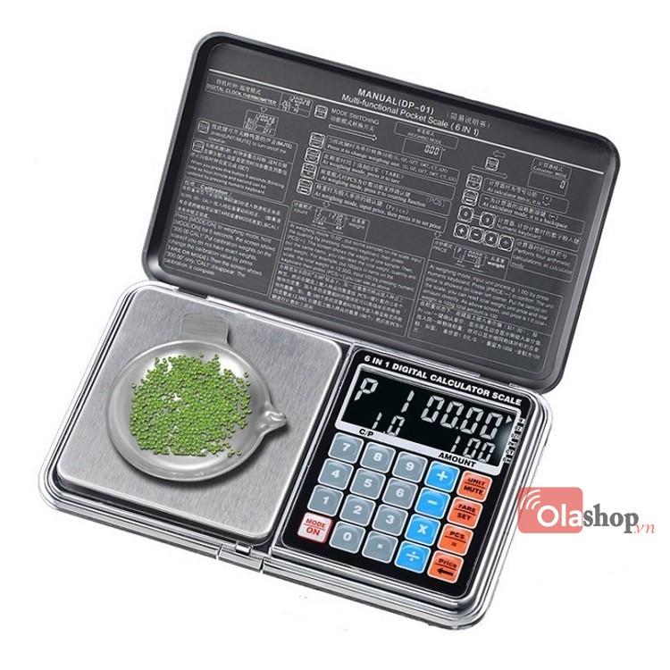 Cân tiểu ly đa năng 6 in 1 500g/0.01g