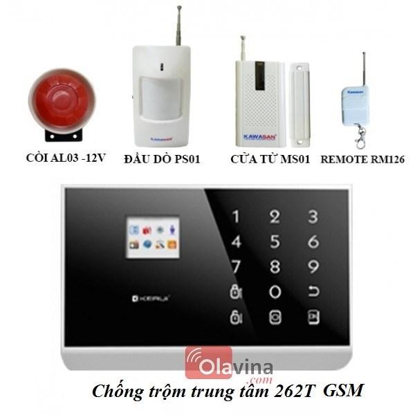 Chống trộm trung tâm 262T GSM