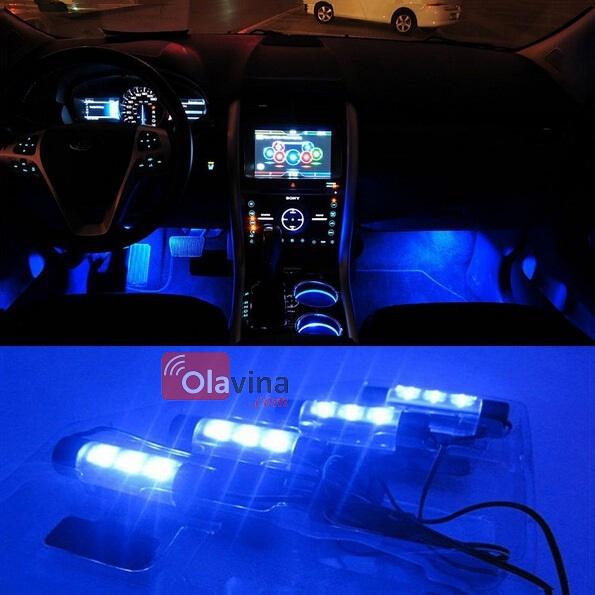 Đèn trang trí sàn, gầm ghế ô tô