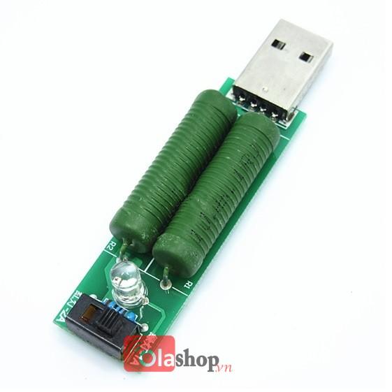 Điện trở xả pin 1A-2A cắm cổng USB