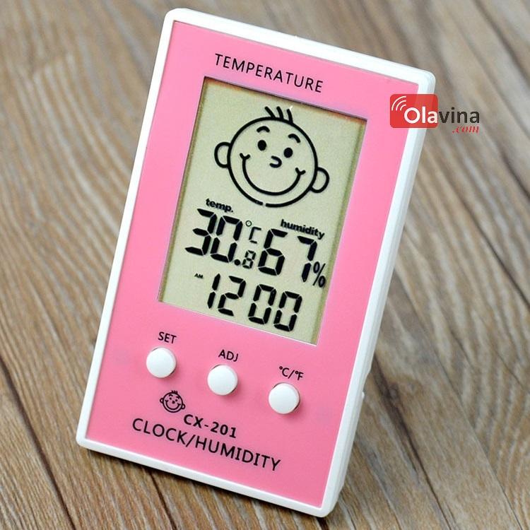 Đồng hồ đo nhiệt độ, độ ẩm CX-201